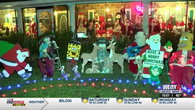 It only takes a glance to see the home on this street full of decorative lights, Grinches and...