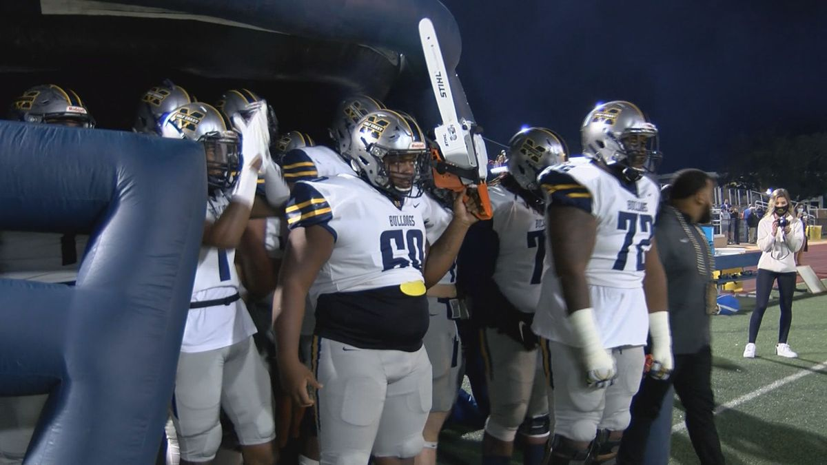 MGCCC takes the field before a game against Jones.