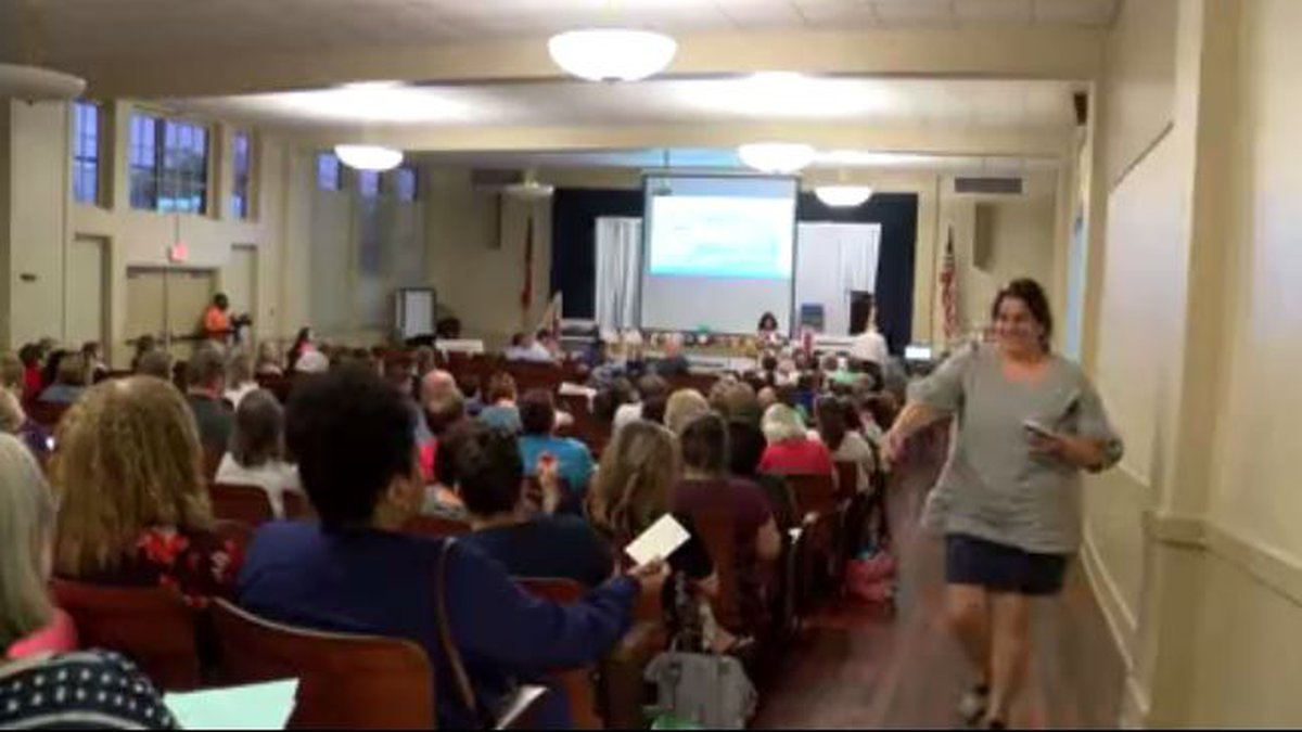 It was a packed room at Lyman Elementary as leaders held another informational meeting on the...
