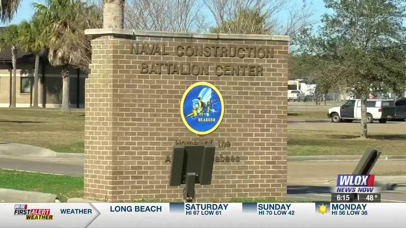 While some of the normal activities are slowing returning on base at the Seabee Base in...