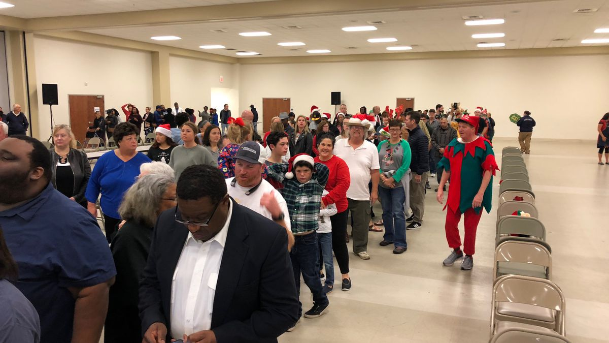 About 1,000 people volunteered to be part of Feed the Needy and bring food, fellowship and...