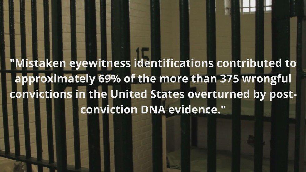 Mistaken eyewitness accounts make up majority of wrongful convictions