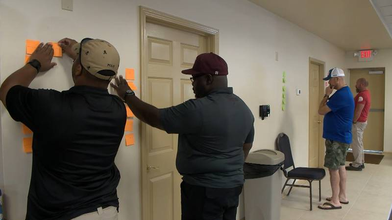 60 officers learn not only to serve in law enforcement but also act as mentors to the kids they...