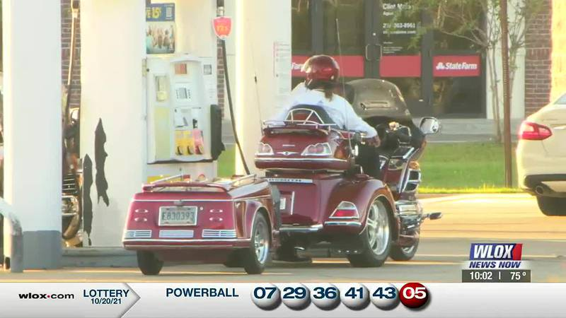 Motorcycle enthusiasts are pouring in from across the Gulf Coast to participate in the Gold...