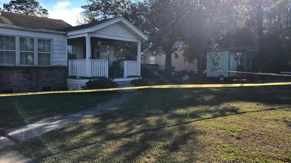 A man police say broke into a Pascagoula home Wednesday morning was killed by the homeowner.