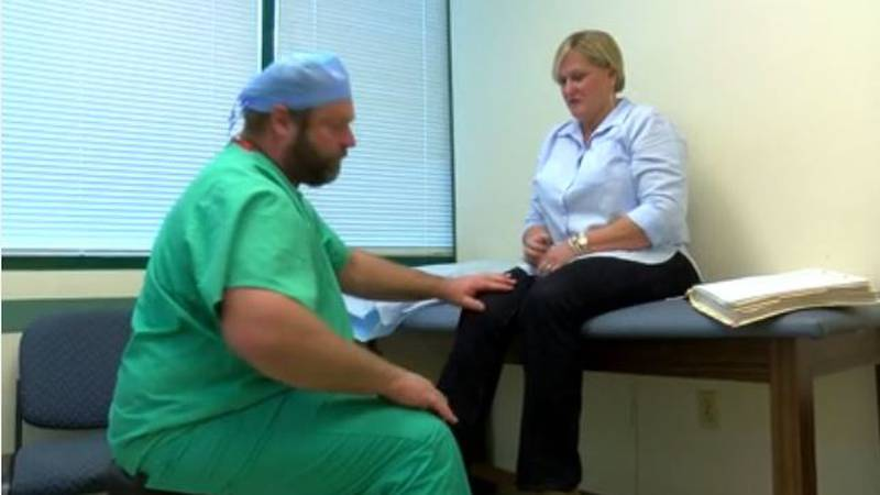 Jackie Switzer had a double knee replacement surgery a few years ago, which was done by Dr....
