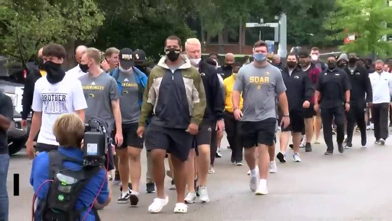 Southern Miss football sits out practice