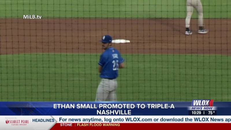 Ethan Small promoted to Triple-A Nashville