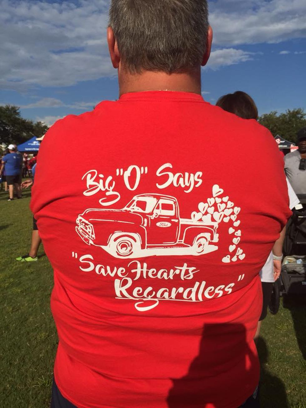 More than 3,000 people were expected to walk in the 25th annual Gulf Coast Heart Walk.