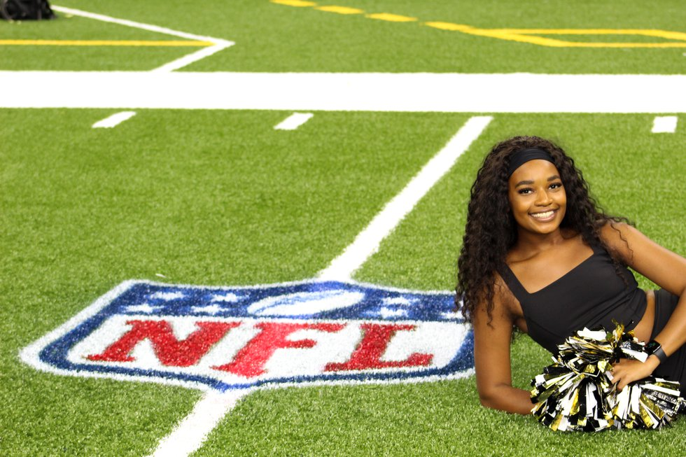 Peyton Stubbs will be dancing along the NFL sidelines this season after being selected to join...