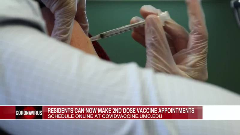 Miss. residents can now make 2nd dose vaccine appointments