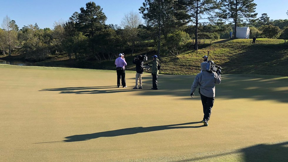 Kevin Sutherland and Scott Parel went seven playoff holes Monday at Fallen Oak, competing in...