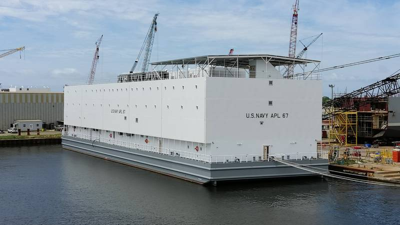 Halter Marine will soon deliver the first two berthing barges to the U.S. Navy.