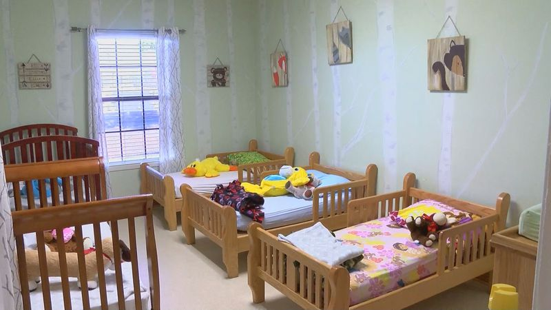 Harrison County's only emergency youth shelter can house anywhere from 25 to 30 children every...