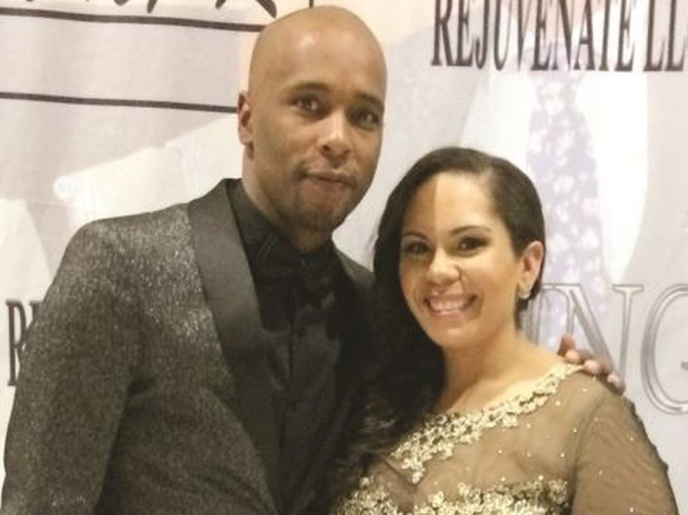 Mayor Mario King and his wife Natasha, pictured here at the benefit gala on March 23, 2019....