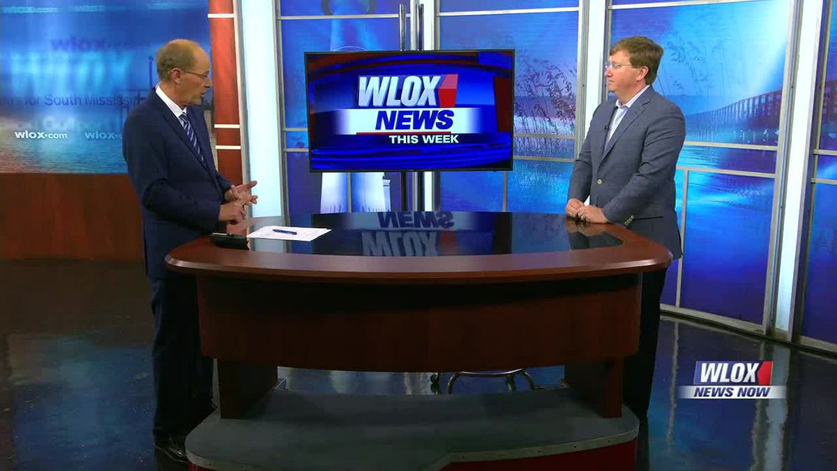Governor Tate Reeves joined us in the WLOX Studio to talk about medical marijuana, the...
