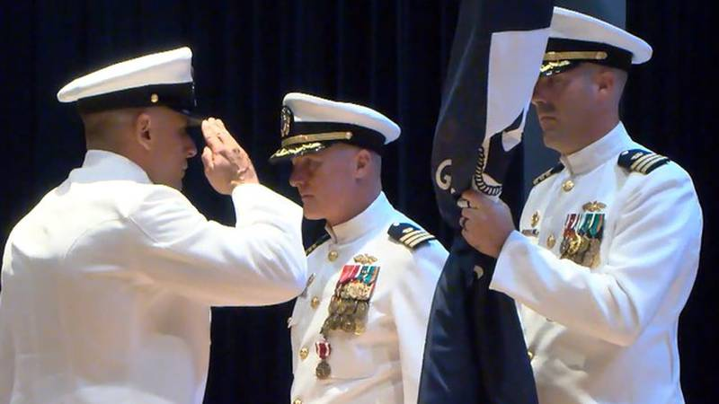 Ready to go at a moment's notice. That's what the new man in charge of the 133rd Naval Mobile...