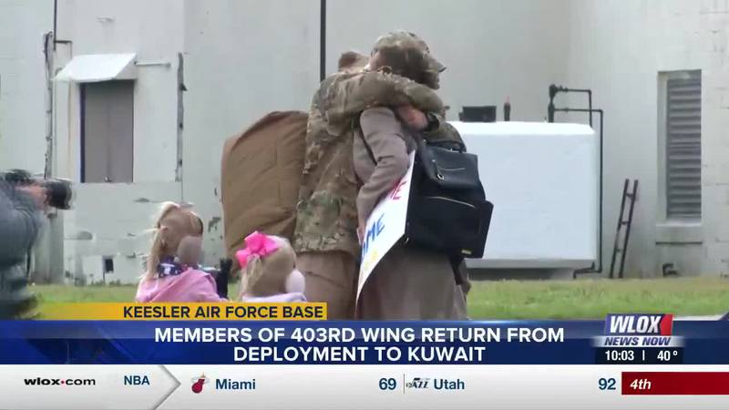 It's a day that any military family member awaits, the day their loved one returns from...