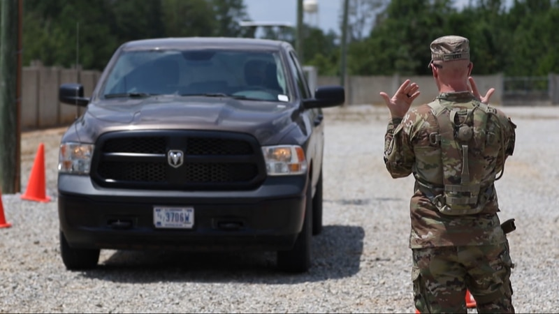 Camp Shelby is the training site for multiple soldiers set to go overseas.