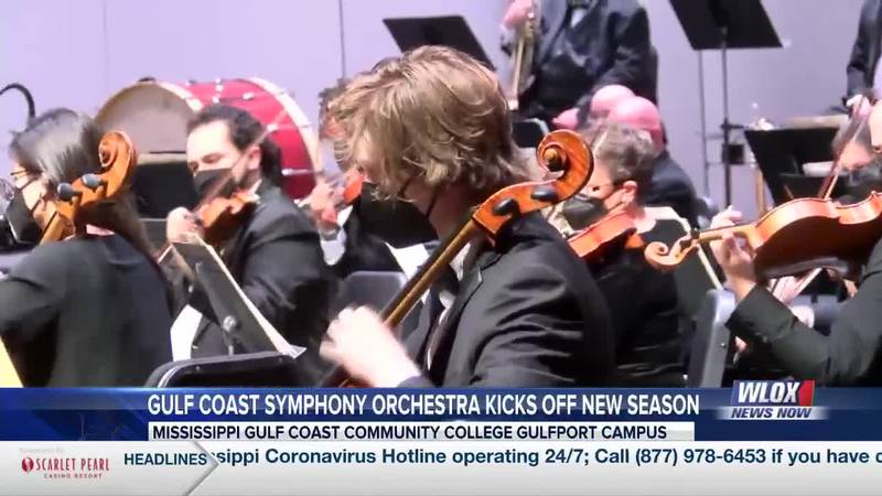 The Gulf Coast Symphony is back after a challenging year due to COVID-19.