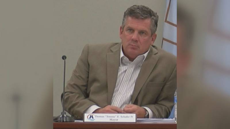 Schafer is accused of assaulting the president of the Property Owners Association during an...