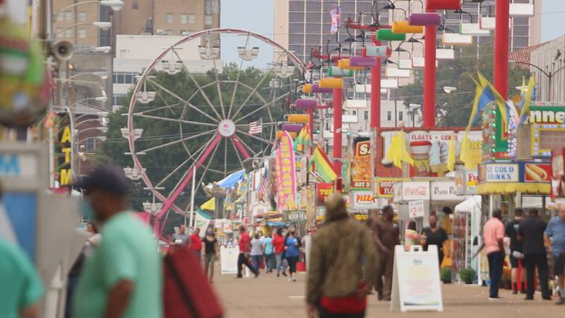 Expected high winds from Hurricane Delta could temporarily close Mississippi State Fair