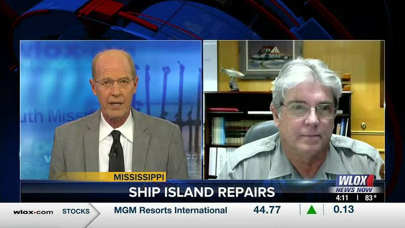 Last year, Hurricane Zeta destroyed an already damaged Ship Island Pier. That forced Ship...