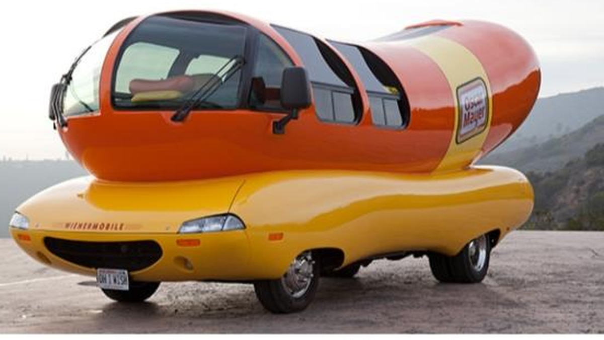 The world-famous Oscar Mayer Wienermobile will be in Hattiesburg Saturday and Sunday
