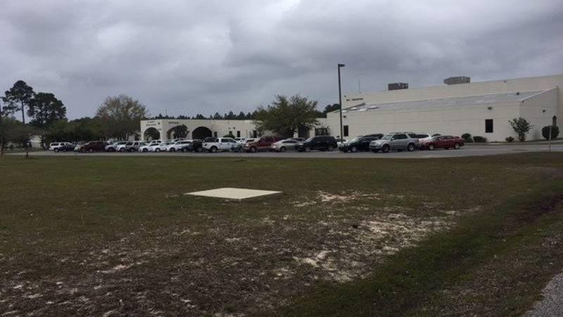 St. Martin Middle School in Ocean Springs (photo credit: WLOX)