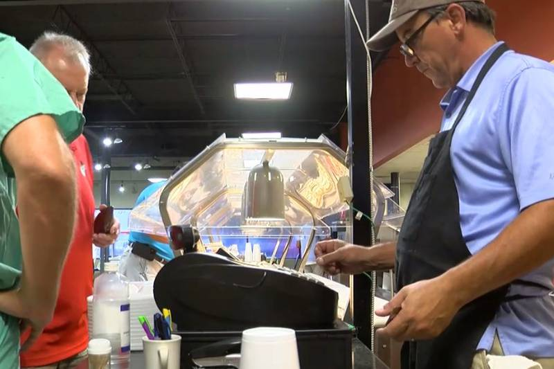 Bacon, eggs, grits and football were on the menu Thursday at Broome's Buffet and Catering.