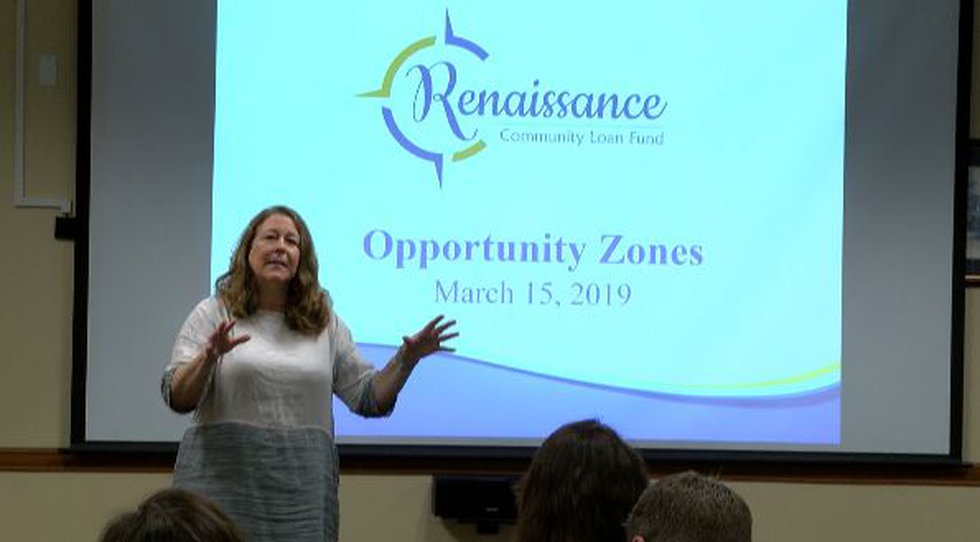 Renaissance Community Loan Fund meets with community and city leaders to dish Opportunity Zones