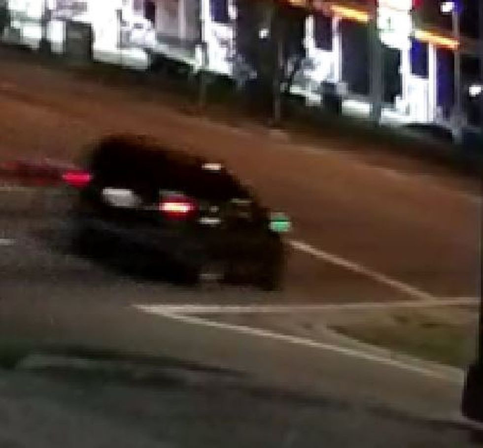 They have determined the vehicle is a dark colored SUV with recent heavy front end damage. The...