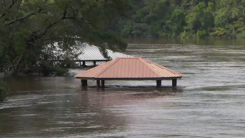 River levels in Harrison County have been falling, but not after another flooding event that...