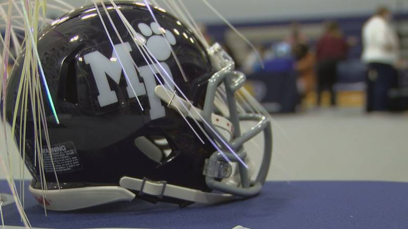 Moss Point school district hosted a job fair  at Magnolia Middle School.