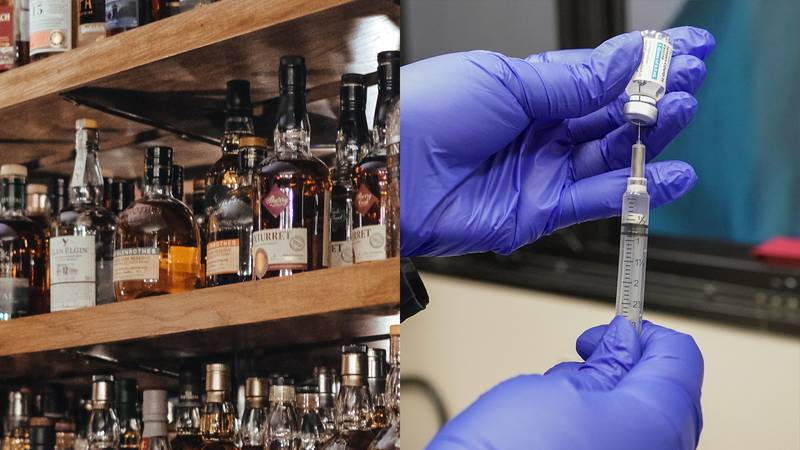 Dragon's Den New Orleans is offering free shots for people who get the J&J vaccine on Friday,...