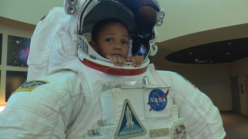 Gulfport outreach summer camp uses Infinity Science Center trip to learn important lessons.