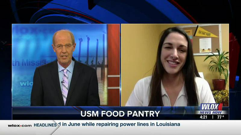 A food pantry located on USM's Gulf Park campus is now open. Student Affairs Coordinator...