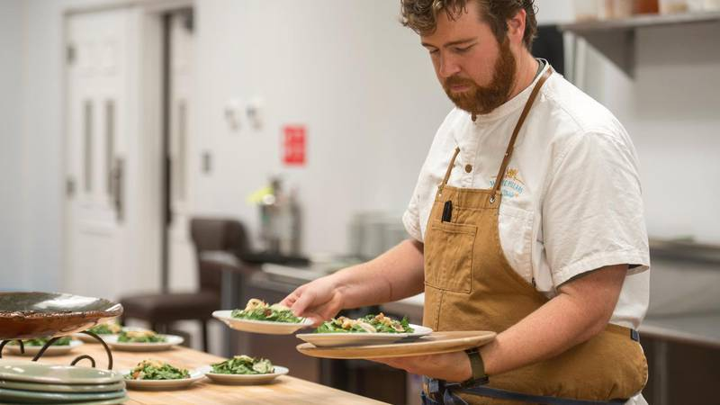 Sumrall won the top prize at the Great American Seafood Cookoff. He was crowned 'King of...