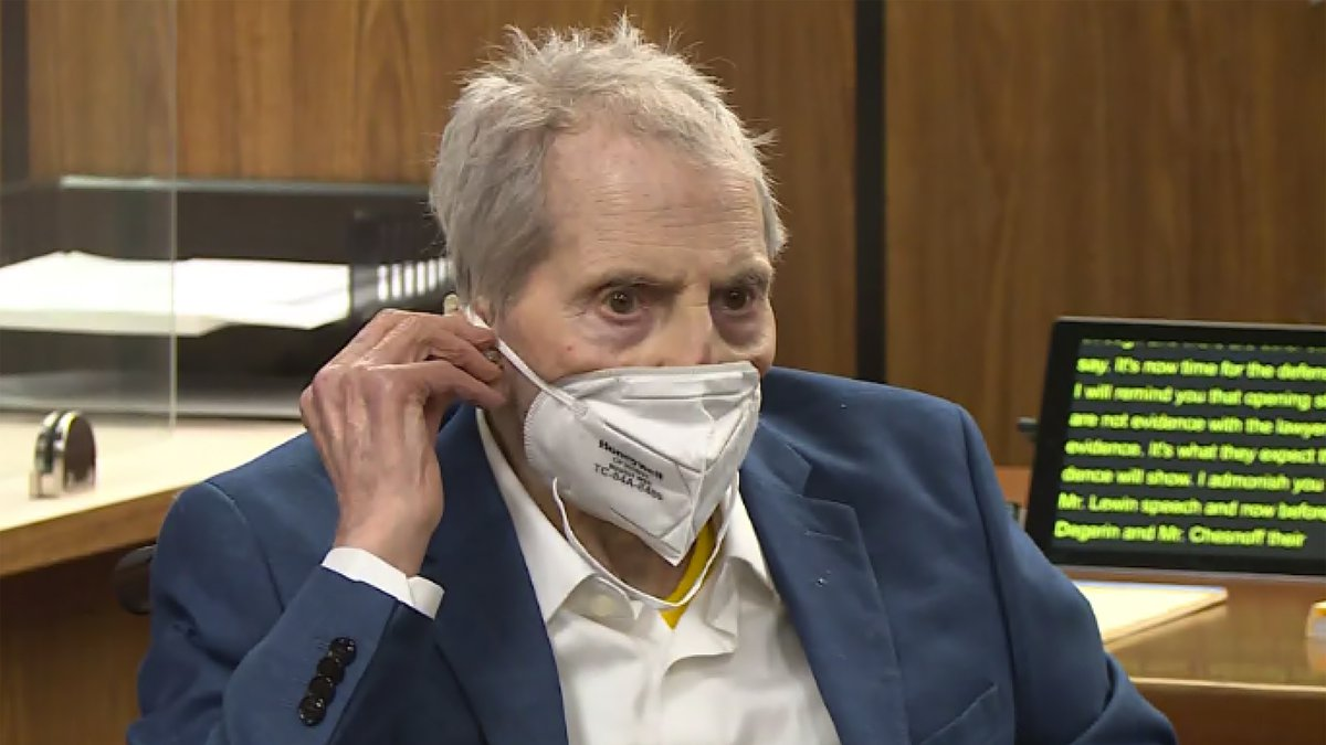 In this still image taken Wednesday, May 19, 2021, from the Law & Crime Network court video,...