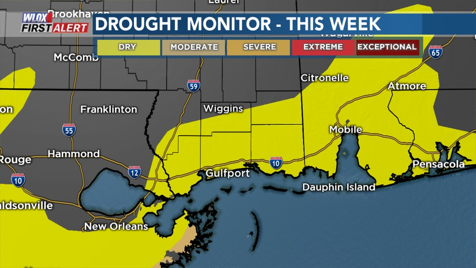 Abnormally dry conditions are the precursor to drought conditions