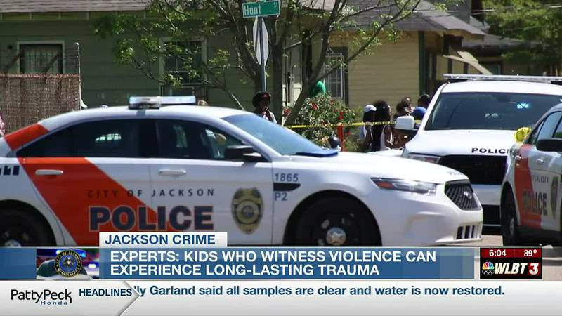 Experts concerned about long-lasting trauma from kids witnessing violent crime in the Capital...