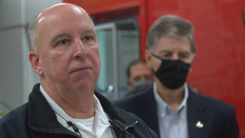 Biloxi Fire Chief Joe Boney has served as chief for the last eight years. He announced his...
