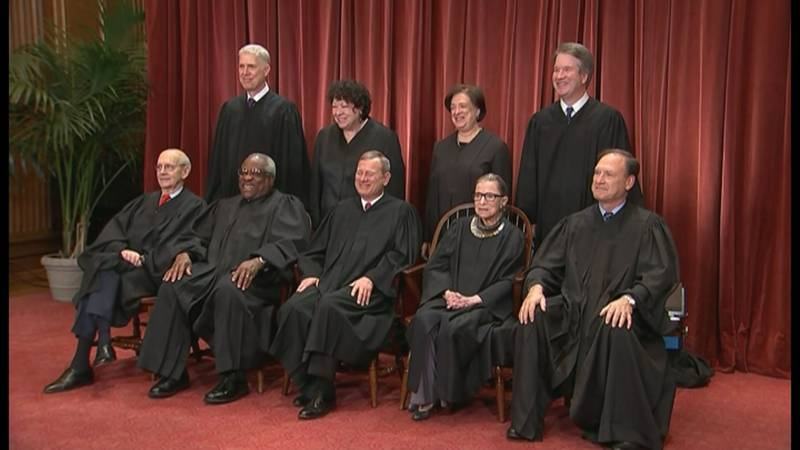 He said he learned first hand how dedicated Ginsburg was to her role on the nation's highest...