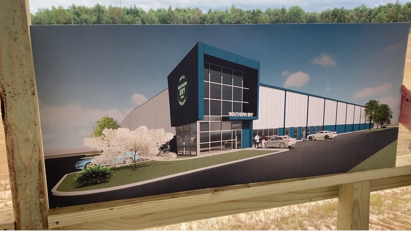Southern Sky is planning a state-of-the-art facility to grow medical marijuana in Madison County.