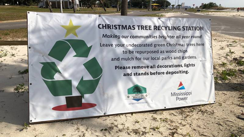 Harrison and Jackson County leaders have Christmas tree recycling stations set up, so you can...