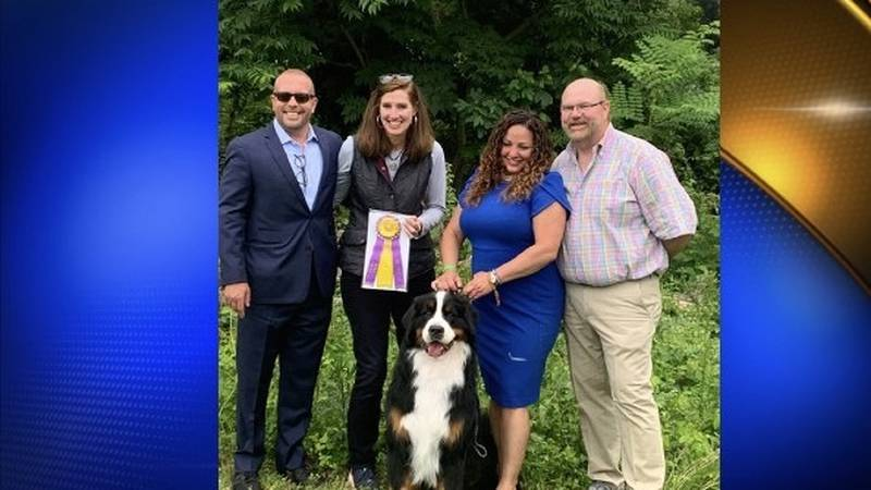 Dog from Tupelo, Mississippi wins award at the Westminster Dog Show