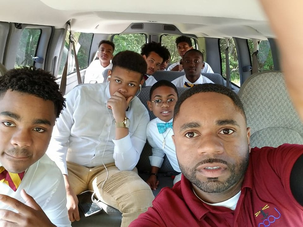 Abra Taylor works with young men on the Gulf Coast to help guide them to a life of success.