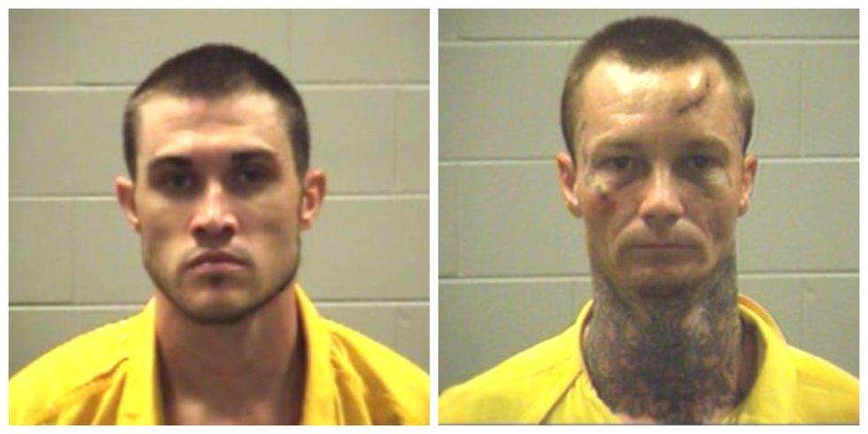 (left) Zachary Cooper, (right) Jason Lee Miller