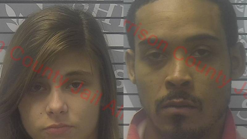 Both have been booked into the Harrison County Adult Detention Center.