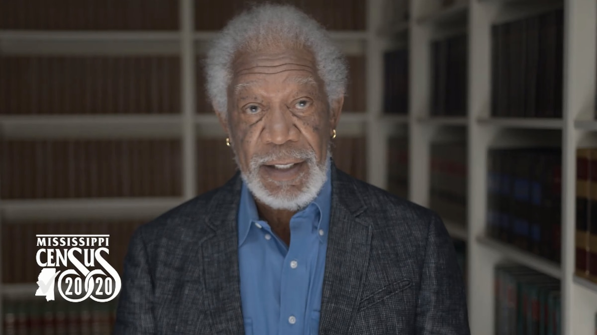 Morgan Freeman reminds Mississippians to take 2020 census: 'Mississippi is counting on you'